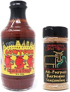 Cowtown Original BBQ Sauce & All Purpose Rub Combo Box - Kansas City Barbecue