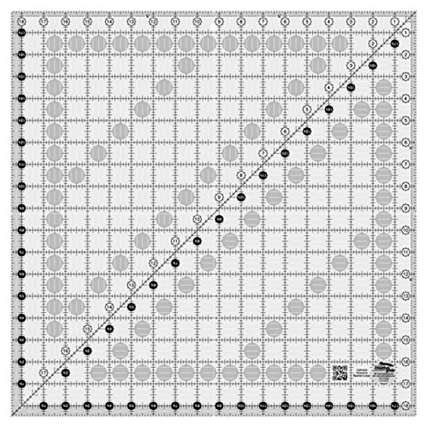 Creative Grids Ruler18.5 Square