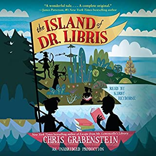 The Island of Dr. Libris cover art