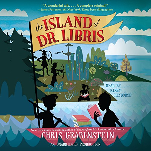 The Island of Dr. Libris audiobook cover art