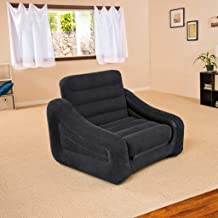 Intex One Person Inflatable Pull Out Chair Bed Sofa bed #68565