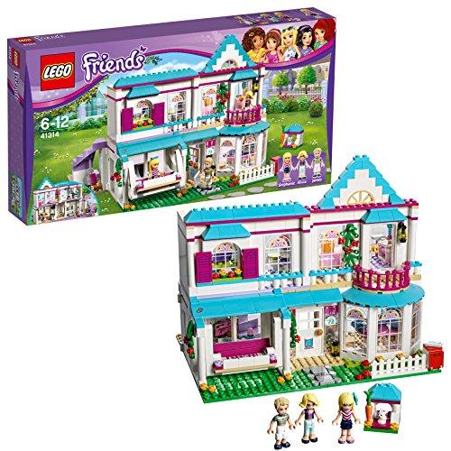 LEGO Friends La Casa di Stephanie, Multicolore, 41314