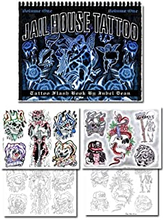 Jail House Tattoo Flash Book Vol. 1 (Volume 1)