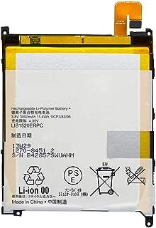 Pattaya Xperia Z Ultra 互換バッテリー SOL24 電池パック LIS1520ERPC