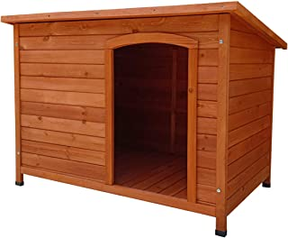 comprar comparacion Gardiun KNH1250 - Caseta de Perro de madera Malik a 1 agua 104x66x70 cm