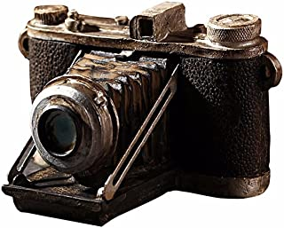Tong Yue Vintage Vieux Mode Résine Camera Style européen Ornement pour Home Bar Décoration