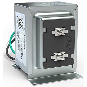 Doorbell Transformer Compatible W Ring Video Pro 16V 30Va Hardwired Door Chime