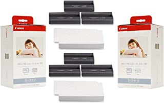 $62 » Canon KP-108IN Ink Paper Set (2) Pack - 216 Prints, 3115B001-X2, Cyan, Magenta, Yellow