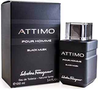 Attimo Black Musk by Salvatore Ferragamo for Men Eau de Toilette 100ml