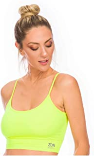 Cropped ZDN Sports Amarelo Neon