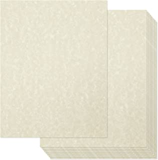 Vintage Fancy Stationery Paper, Textured, Printer Friendly for Resumes, Awards , Diplomas (Ivory, 8.5 x 11, 96 sheets)