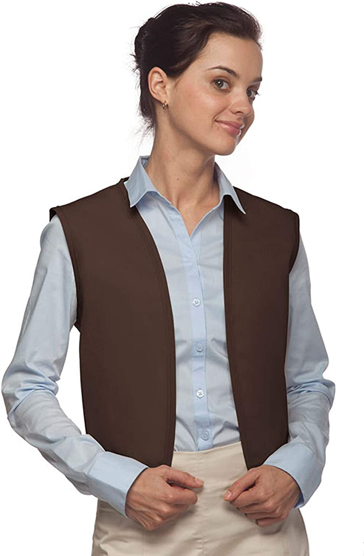 Averill's Sharper Uniforms Unisex Economy No Buttons or Pocket Vest