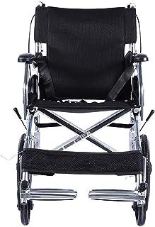 LY-YY 車椅子 医療リハビリテーション椅子、車椅子、軽量折りたたみ車椅子運転医療、アルミ四足杖伸縮スティック老人杖脳卒中片麻痺の歩行支援 自走介助兼用