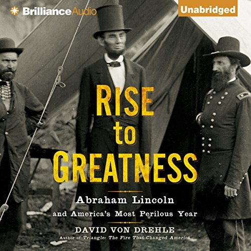 Rise to Greatness audiobook cover art