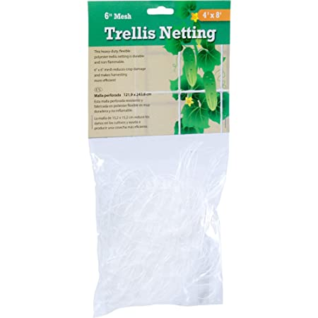 "NEW Hydrofarm HGN30S Flexible String Trellis Netting 5/' x 30/' 3.5/"" Mesh"