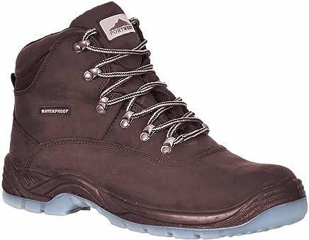 Portwest FW57 Steelite Aqua All Weather Boot S3, Negro, 8 UK, 42 EU