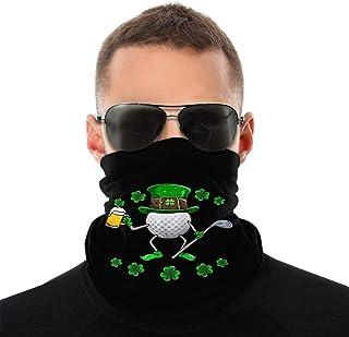 St Patricks Day Leprechaun golf hockey full vindpaus bandana halsduk tvättbar dammmask balaclava ansikte mun