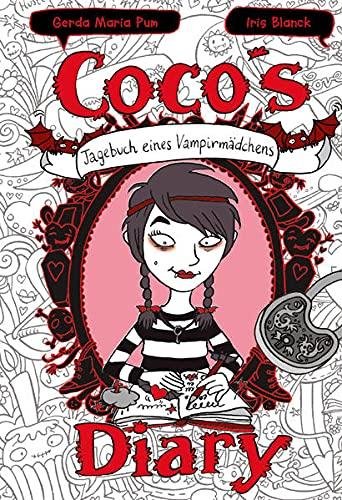 Coco`s Diary - Tagebuch eines Vampirmädchens: Mädchenbücher ab 8 - 10 (Comic Roman für Mädchen Bücher ab 8): Ein Comic Roman