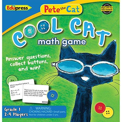 Edupress Pete The Cat Cool Cat Math Game 1 (EP63531)