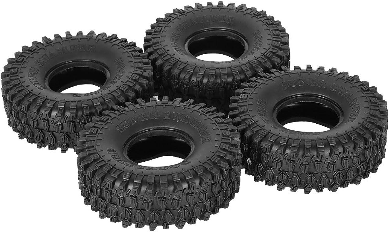 Goolsky 4Pcs AUSTAR AX5020 1.9 Inch 120mm Rock Crawler Tires for 1 10 Traxxas Redcat SCX10 AXIAL RC4WD TF2 RC Car