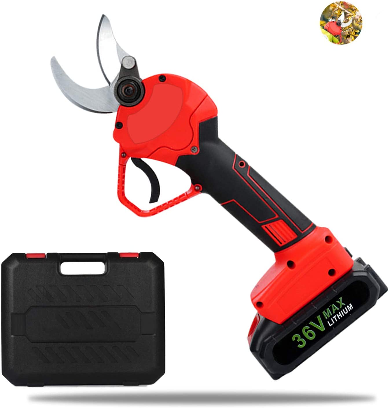 TZUTOGETHER Professional Cordless Electric Pruning Shears Tree Max 46% OFF Cheap mail order sales