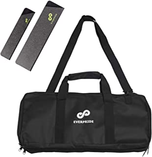 Knife Bag for Chefs w/Shoulder Strap by EVERPRIDE | Premium Culinary Knife Bag | Includes 2 Knife Guards | Durable Kitchen Utensils Holder | Knives Protector w/ 20 Pockets & 3 Zipper Compartments