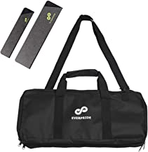 Professional Knife Bag for Chefs w/ Shoulder Strap by EVERPRIDE - Premium Culinary Knife Bag - Durable Kitchen Utensils Holder-Cook Knives Protector & Organizer w/ 20 Pockets & 3 Zipper Compartments