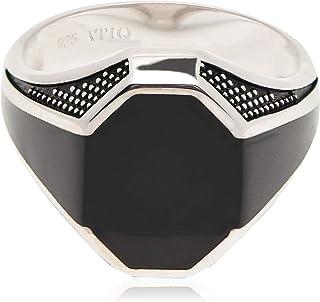 خاتم من الفضة الاسترليني للرجال من عتيق