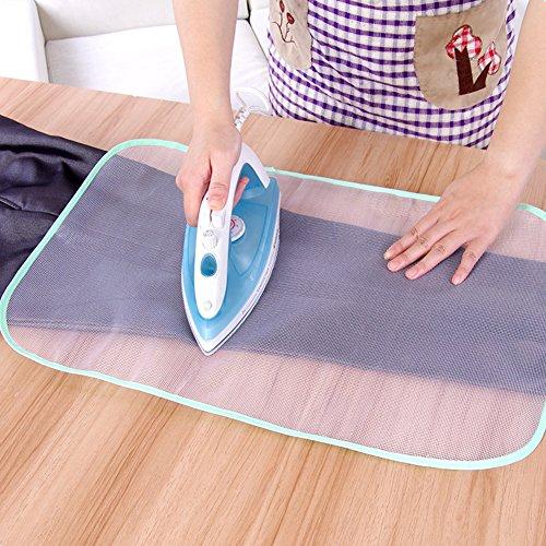 Ainstsk Isolatie Pad,40 x 60cm Beschermende Cover Strijkplank Druk Iron Mesh Isolatie Pad voor Strijken Doek Bescherming Kleding Thuis Accessoires, Willekeurige Kleur