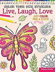 This Book Has 100 Peel And Stick Colorable Stickers For You To Create With As Well Crafty Ideas Things Do Them