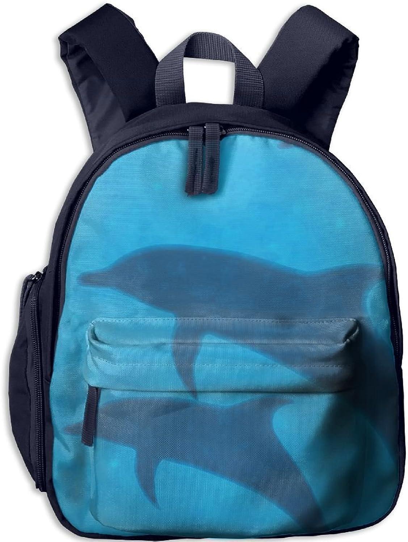 Pinta Dolphin Cub Cool School Book Bag Backpacks for Girl's Boy's