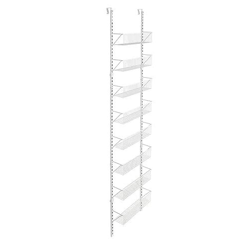 """ClosetMaid Adjustable Wall & Door 8-Tier Wall and Door Basket Organizer, 18"""""""