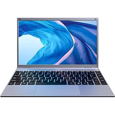 KUU Ordenador Portátil XBOOK-M 14.1'', Notebook Inter Celeron J4005, 8GB RAM DDR4 256GB SSD, Monitor de PC portátil FHD con USB 3.0 y Bluetooth 4.0, portátil con Windows 10