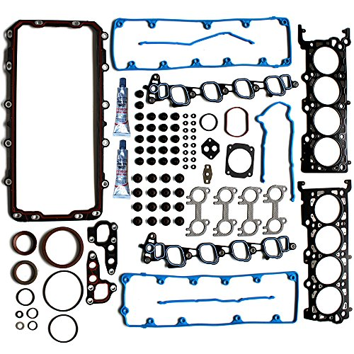 ECCPP Engine Full Head Gasket Bolts Sets for Automotive Full Head Gasket Kits...