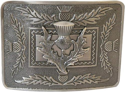 Mens Scottish Highland Deluxe Kilt Belt Buckle - Many to Choose From