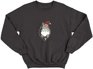 LumaCrewnecks Christmas Totoro Santa Studio Ghibli_008292 Crewneck Sweater Sweatshirt Pullover Ugly Unisex