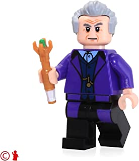 LEGO Dr. Who The Twelfth Doctor with Sonic Screwdriver