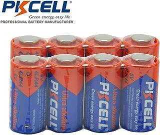8 Pcs 4LR44 6V Alkaline Batteries for Dog Training Collars