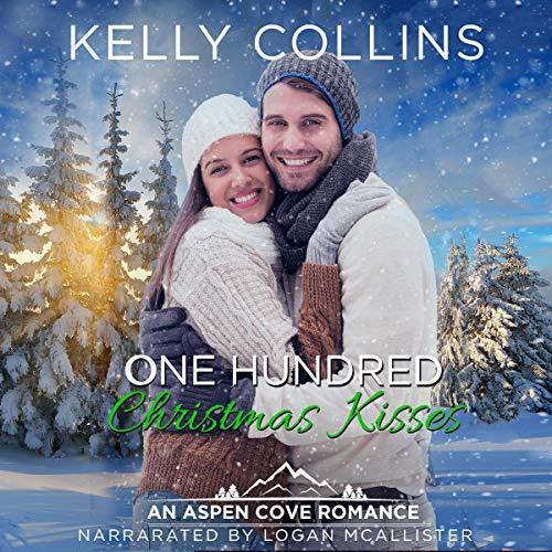 One Hundred Christmas Kisses audiobook cover art