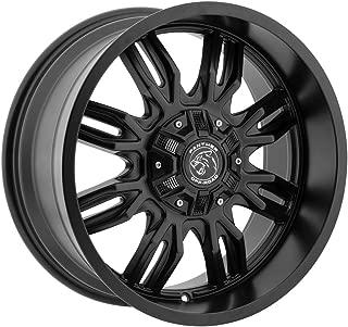 Panther OffRoad 580 Gloss Black 20x9 Wheel / 6-135 6-139.7 mm Bolt Pattern / 00 mm Offset / 106.1 mm Hub Bore