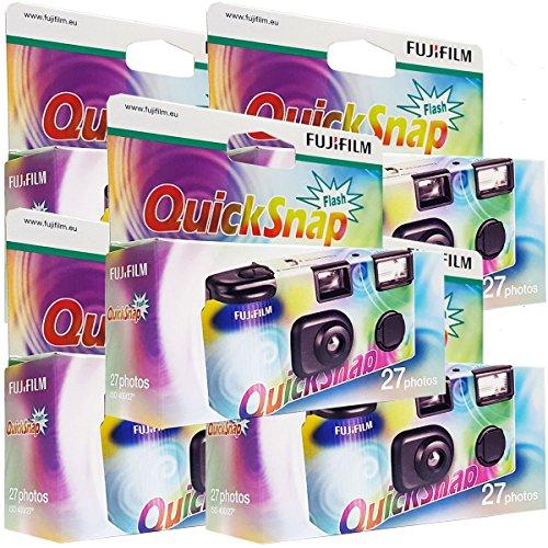 FUJIFILM 5x Fujifilm Quicksnap Flash Einwegkamera Bild