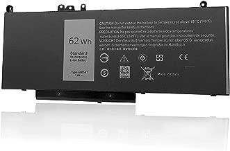 FLIW 6MT4T Replacement Battery Compatible with Dell Latitude E5470 E5570 Precision 3510 0HK6DV 079VRK TXF9M 0TXF9M 7.6V 62Wh