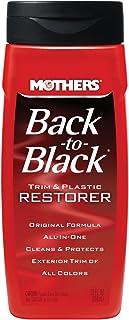 Mothers 06112-6-6PK Back-to-Black Trim & Plastic Restorer, 12 fl. oz, (Pack of 6)
