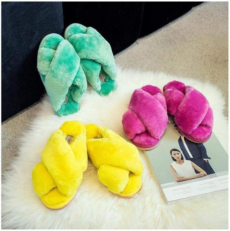 FidgetGear Women House S Indoor Plush Soft shoes Luxury Slipper
