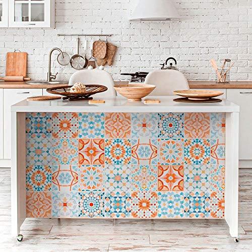 RA0195 - Lámina adhesiva para muebles y paredes, rollos de papel adhesivo de alta resolución con varios tamaños, para muebles, azulejos, mesas, armarios, cocinas