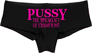 Knaughty Knickers Pussy The Breakfast of Champions Oral Sex Flirty Sexy Panties
