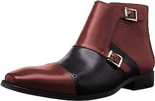 Men's Kason Cap Toe Double Monk Strap Side Zipper Boot Chukka
