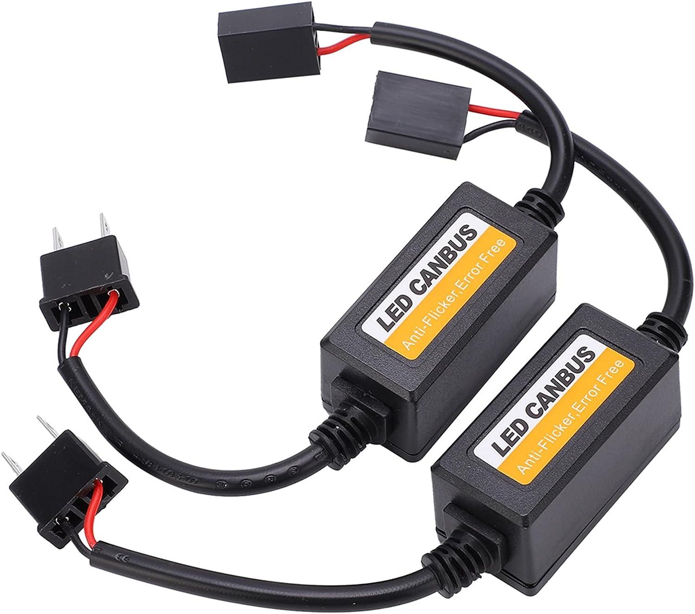 2Pcs LED Decoder, Car Dashboard Error Code Fault Canceller Worki