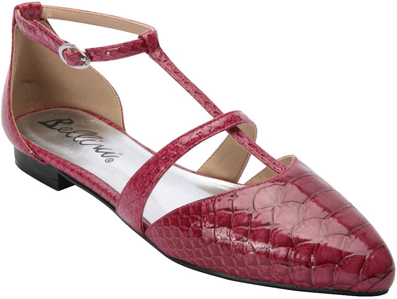Bellini Women's Passion Slip On T-Strap Fashion Flats