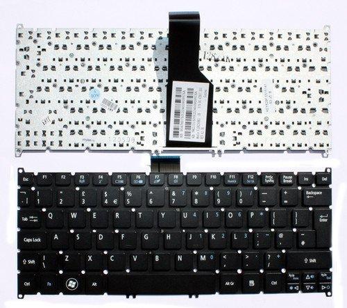 Acer Aspire One AO756 756 AO725 725 TravelMate B113-M B113-E Serie Vervangend Laptop Toetsenbord UK Indeling Zwart Zonder Frame